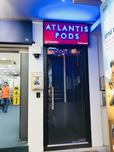 Atlantis Pods @ Chinatown, Singapura