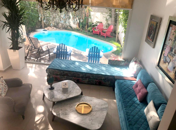Villa With 2 Bedrooms in Casablanca, With Private Pool, Enclosed Garden and Wifi - 1 km From the Beach, Casablanca