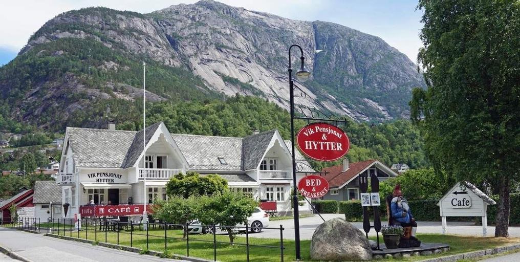 Vik Pensjonat og Hytter, Eidfjord