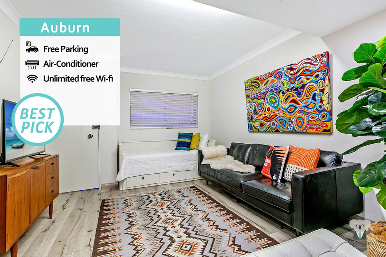 Auburn Designed Home 2 Level 2 Bedrooms +parking Train To CBD Nau017, Auburn