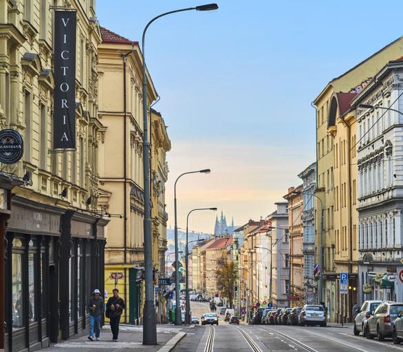 Victoria, Praha 8