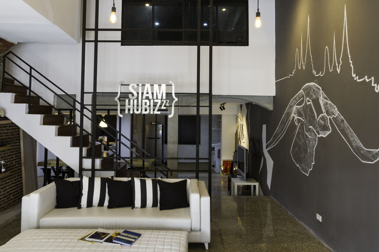 Siam Hubbiz Hostel, Phaya Thai