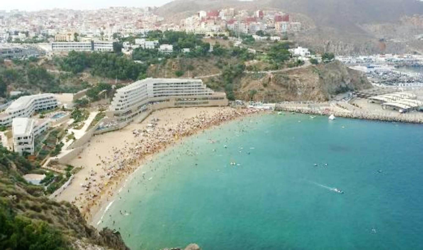 Apartment With 2 Bedrooms in Al Hoceïma, With Wonderful sea View, Enclosed Garden and Wifi - 2 km From the Beach, Al Hoceïma
