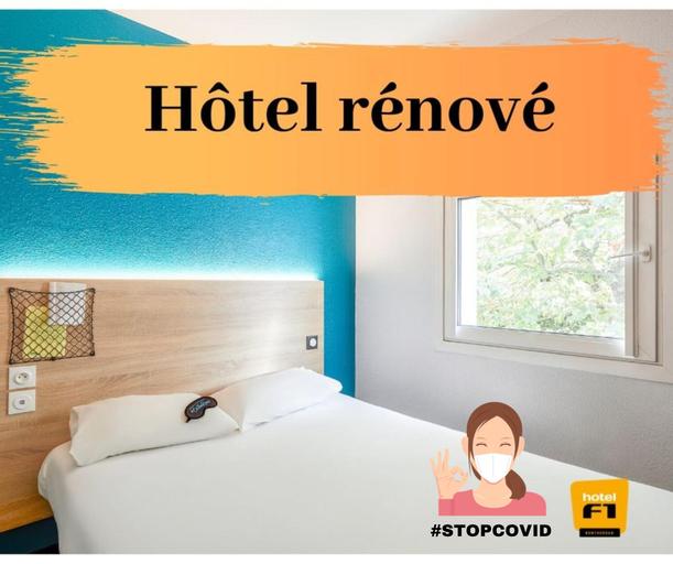 hotelF1 Angoulême, Charente