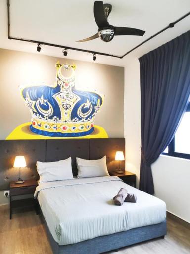 The Crown Medini 1 Bedroom 2 Pax @ UHA Home, Johor Bahru