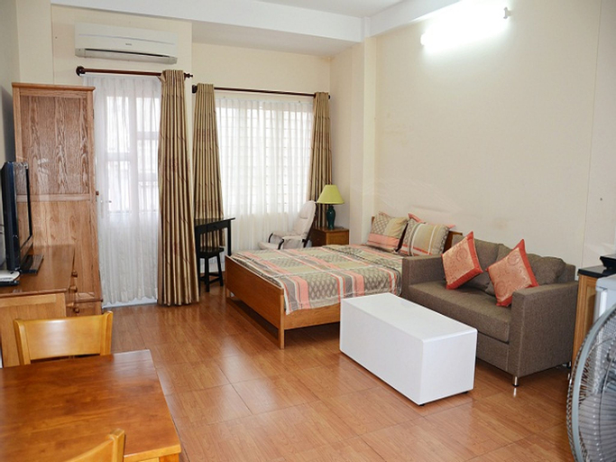 Smiley Apartment 3- 401 Seviced studio apartment with balcony, Quận 1