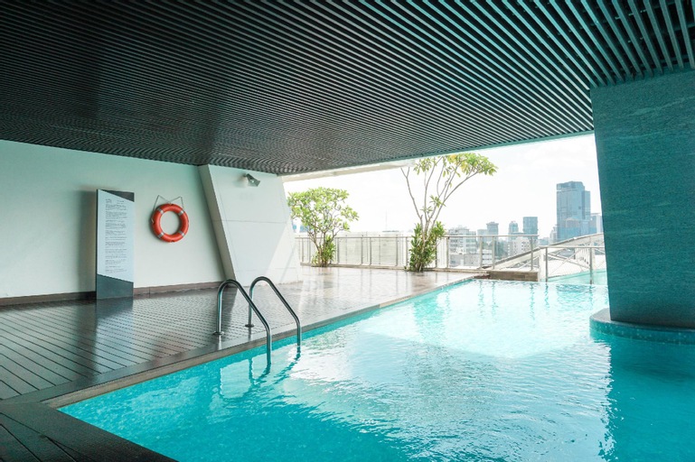 Private Lift 2BR Apt @ Menteng Park By Travelio, Central Jakarta
