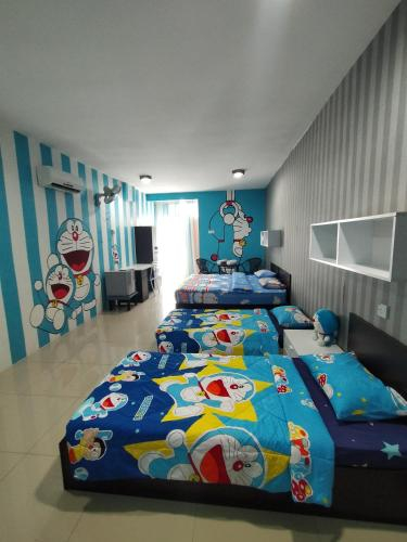 ANTZ Doraemon 4pax Family Room with WiFi, Kinta