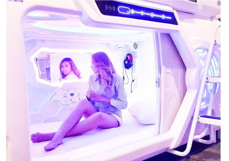 Capsule Rest Area 24시간이용 1인 1캡슐 D, Bupyeong