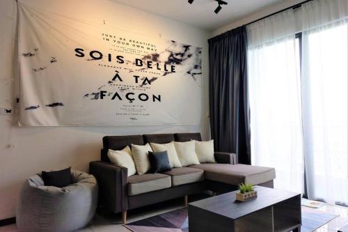 Instagram-able Grey Themed 2BR Suite by MacStay, Seberang Perai Utara
