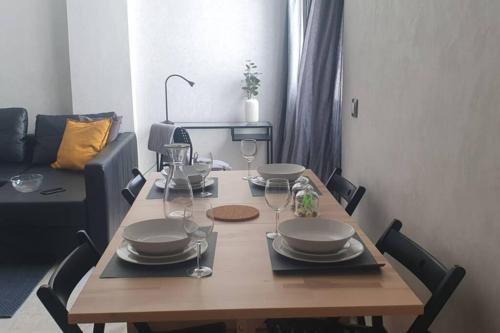 Tres bel appartement en face du parc, pres du Novotel, Mohammedia