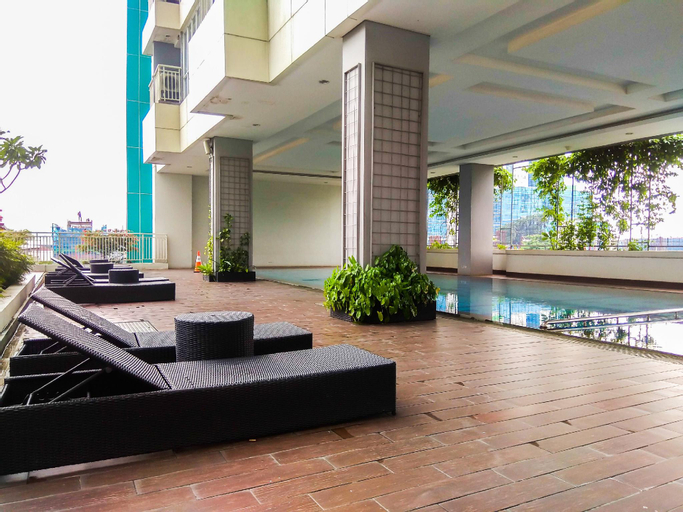 Highest Value Studio Apt @ H Residence By Travelio, East Jakarta
