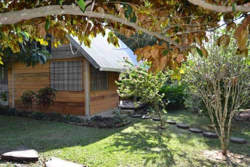 Hummingbird Rest a fully equipped cabana in subtropic garden,