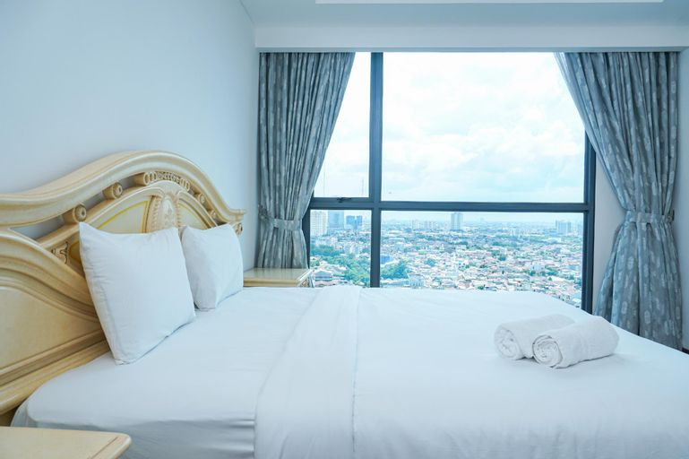 Spacious 2BR Apt at Wang Residence By Travelio, Jakarta Barat