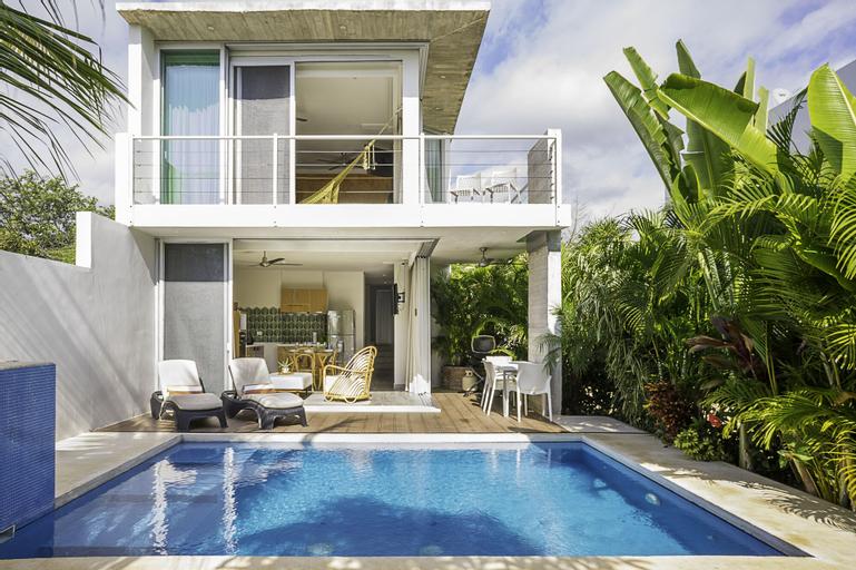 Villa 34 Bohemian Chic Style Villa, 2 min to Private Cenote, Cozumel
