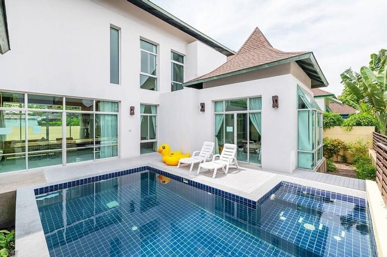 AnB Pool Villa 3BR Glass House in Pattaya, Sattahip