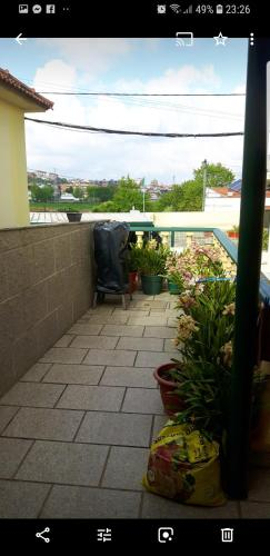 House with 2 bedrooms in Alfena with wonderful city view furnished terrace and WiFi 7 km from the be, Valongo