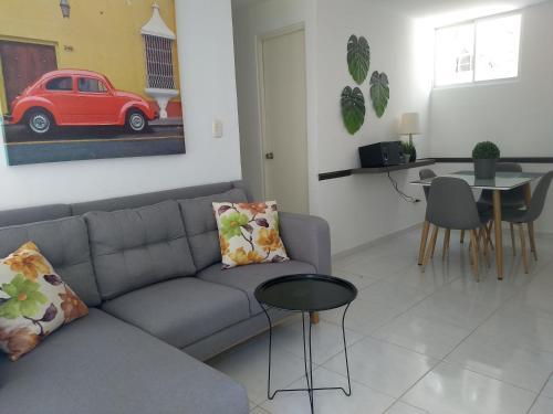 CH-2- Comodo apartamento amoblado en condominio, Valledupar