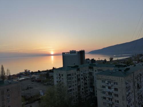 2 комнатная квартира с видом на море, Gagra