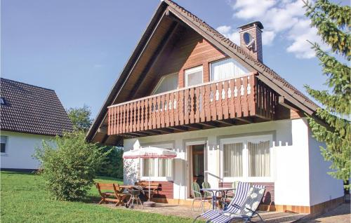 Three-Bedroom Holiday Home in Oberaula OT Hausen, Schwalm-Eder-Kreis