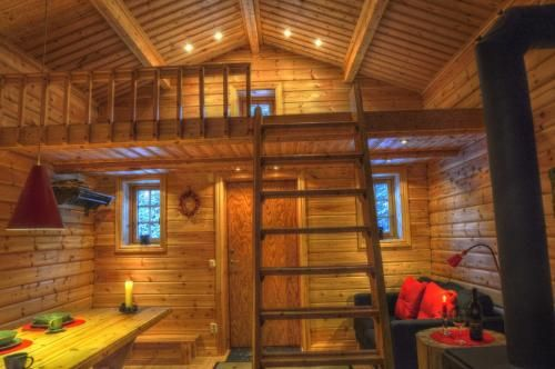 Cottage On Wild River In Lapland/Sweden, Sorsele