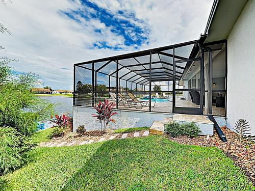 Waterfront Home with Stunning Views, Pool, Boat Dock home, Flagler