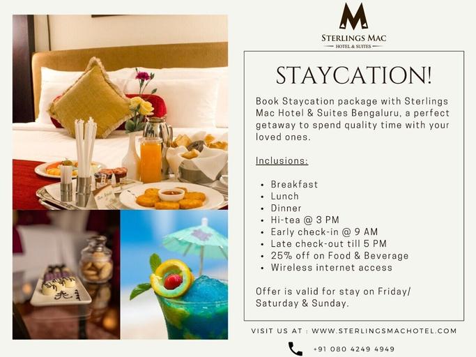 Sterlings Mac Hotel, Bangalore
