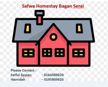 Safwa Homestay Bagan Serai, Kerian