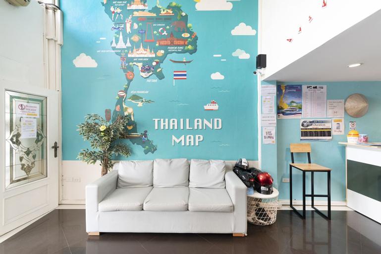 OYO 618 At Khaosan Hostel - Adults Only, Phra Nakhon