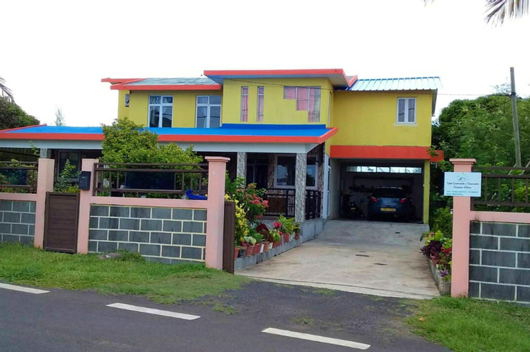 House With 3 Bedrooms in Anse Quitor , With Wonderful sea View and Furnished Terrace,