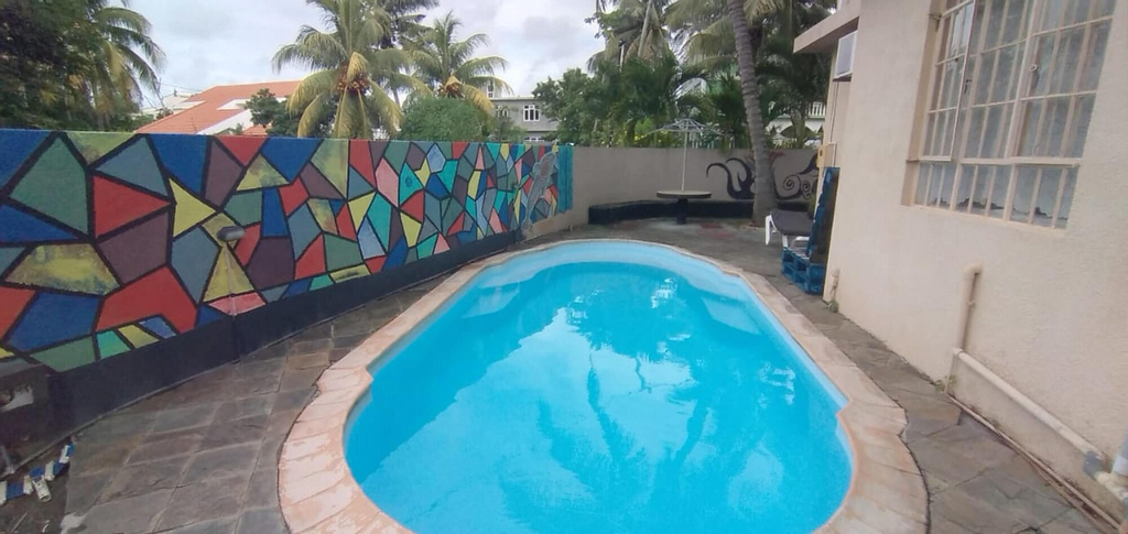 Apartment With one Bedroom in Trou-aux-biches, With Shared Pool, Furnished Terrace and Wifi - 1 km From the Beach,