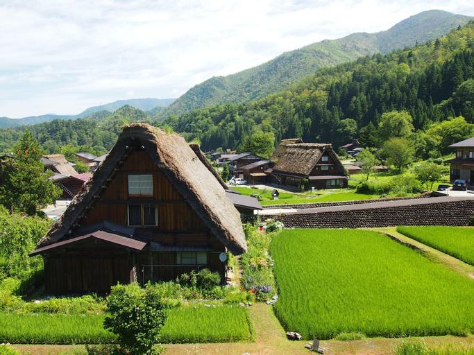 Shirakawago Gassho house Gensaku, Shirakawa Village