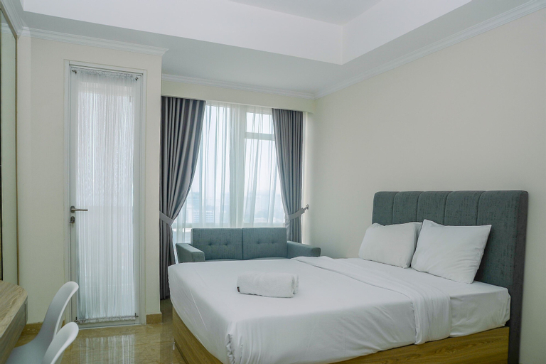 Modern and Cozy Studio Menteng Park Apartment By Travelio, Central Jakarta