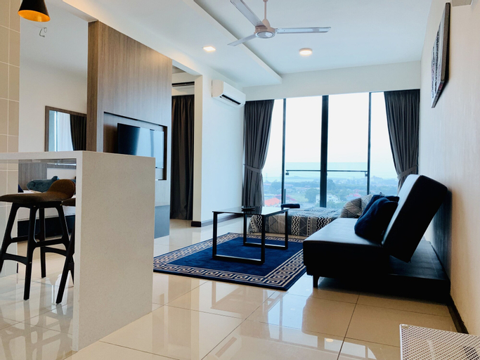D'wharf Residence @ PD Waterfront Balcony View by AirPlan, Port Dickson