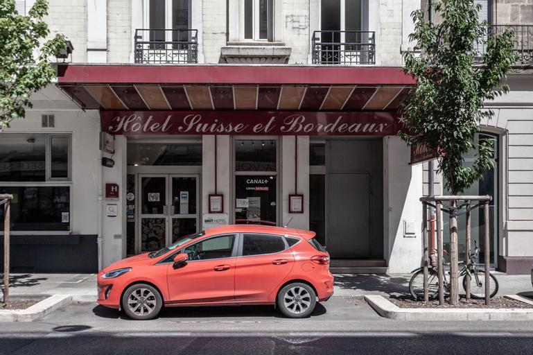 Brit Hotel Suisse et Bordeaux - Centre Gare, Isère