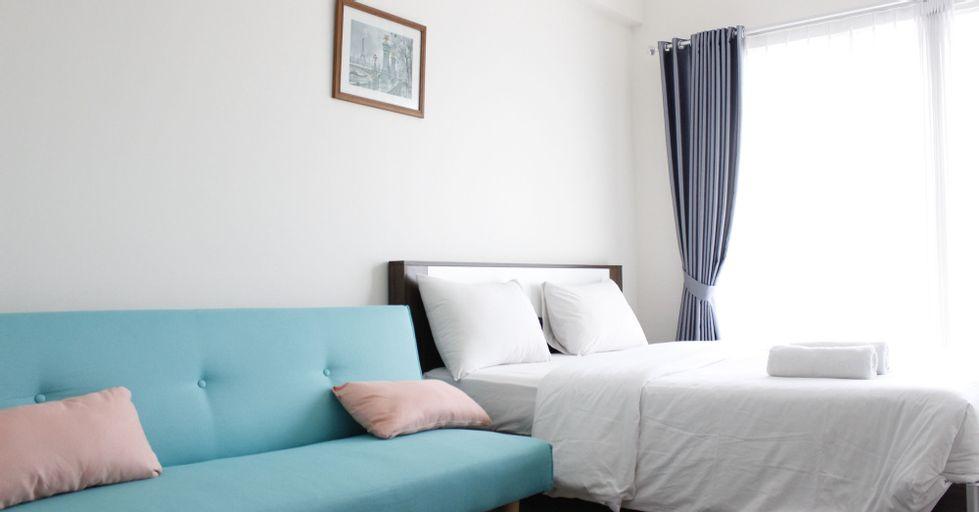 Cozy & Contemporary Studio at Galeri Ciumbuleuit 3 Apartment near Nara Park By Travelio, Bandung