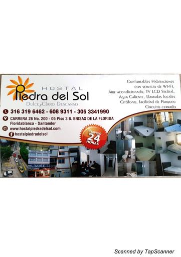 HOSTAL PIEDRA DEL SOL, Floridablanca