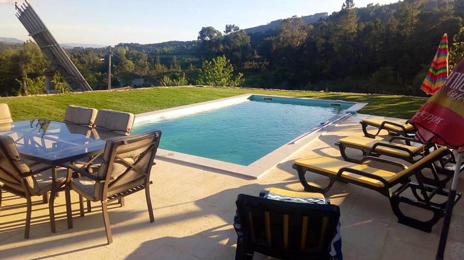 Villa With 5 Bedrooms in Portela, With Wonderful Mountain View, Private Pool, Enclosed Garden, Cabeceiras de Basto