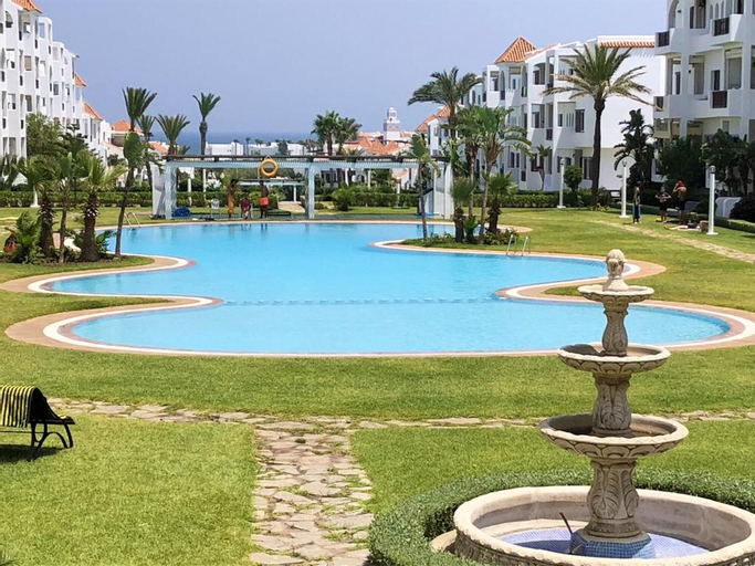 Apartment With 2 Bedrooms in Cabo Negro, With Enclosed Garden - 300 m From the Beach, Tétouan