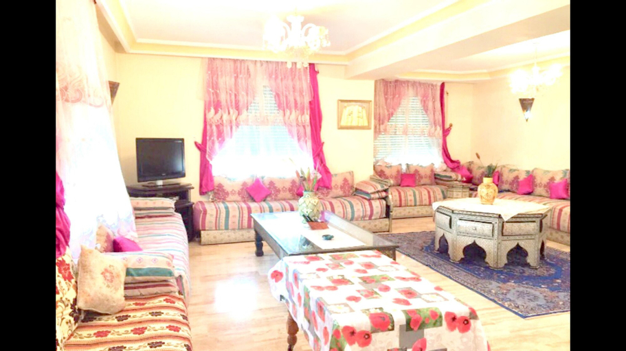Apartment With 2 Bedrooms in Casablanca - 2 km From the Beach, Casablanca