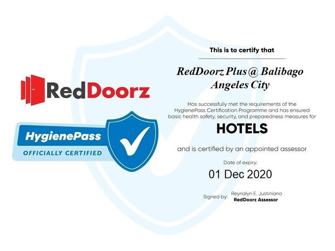 RedDoorz Plus @ Balibago Angeles City, Mabalacat