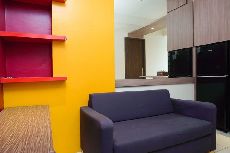 Warm and Cozy 1BR Puri Park View Apartment By Travelio, West Jakarta