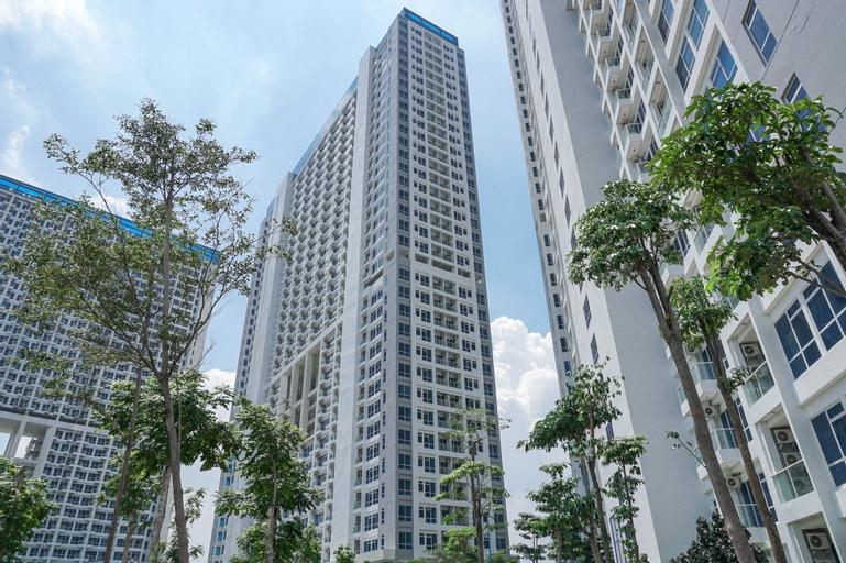 Modern City View Studio Apartment at Puri Mansion By Travelio, West Jakarta
