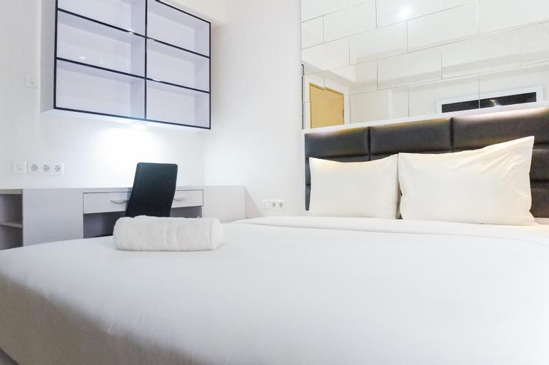 Comfy and Clean Studio Room Apartment at Educity By Travelio, Surabaya