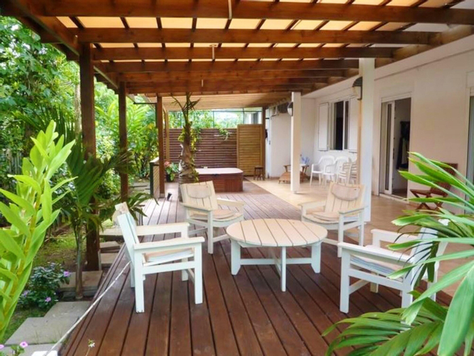 Apartment With 3 Bedrooms in Bois-de-nèfles Saint-paul, With Wonderful sea View, Enclosed Garden and Wifi - 15 km From the Beach, Saint-Paul