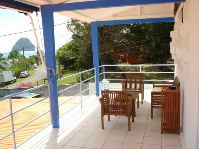 Apartment With 3 Bedrooms in Le Diamant, With Wonderful sea View, Enclosed Garden and Wifi, Le Diamant