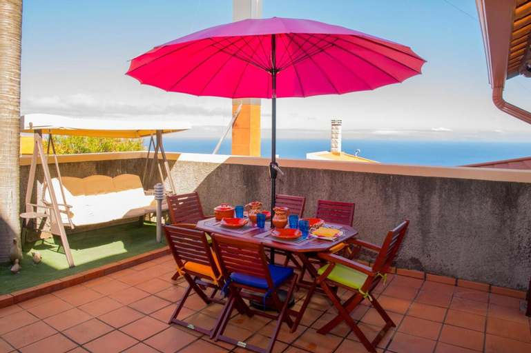 House With 2 Bedrooms in Santa Cruz, With Wonderful sea View, Furnished Terrace and Wifi - 1 km From the Beach, Santa Cruz