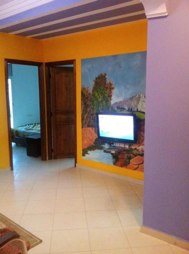 Apartment With 2 Bedrooms in Témara, With Wonderful City View, Balcony and Wifi - 5 km From the Beach, Skhirate-Témara