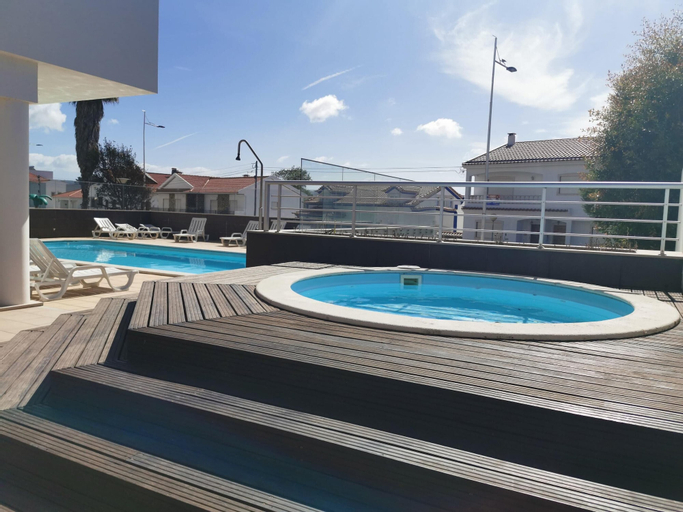 Apartment With 3 Bedrooms in São Martinho do Porto, With Wonderful City View, Pool Access, Furnished Balcony - 250 m From the Beach, Alcobaça