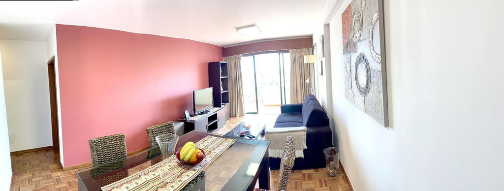 Apartment With one Bedroom in Funchal, With Wonderful City View, Furnished Terrace and Wifi - 7 km From the Beach, Funchal